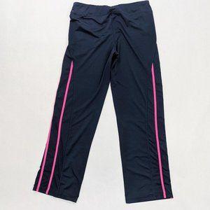 Wilson Navy / Pink Striped Activewear Leggings L